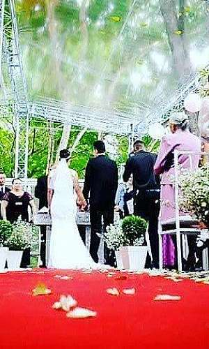 Aluguel de palco para casamento