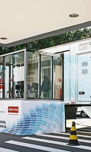 Aluguel de unidade móvel de saúde