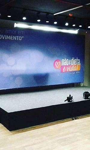Aluguel palco para shows