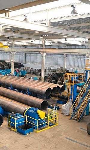 Fabricante de tubo de aço