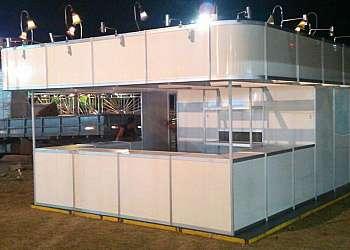 Locação de stands para feiras