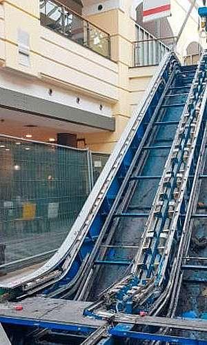 Montagem de Escada Rolante