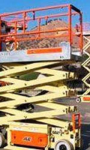 Plataformas elevatórias para alugar em MG