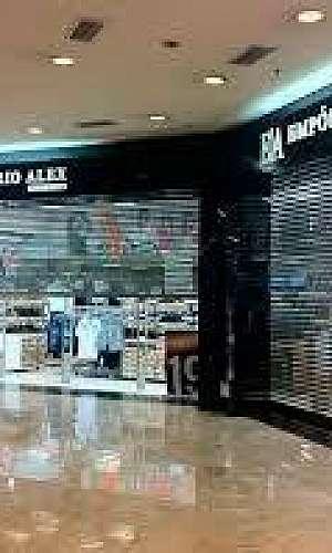 Porta automática para shopping