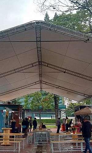 Tendas e barracas para eventos